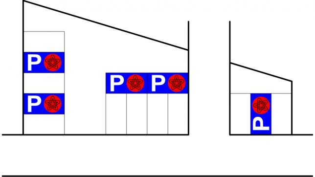 駐車エリア案内図